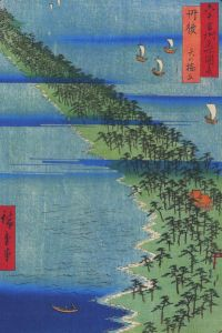 399px-Hiroshige_A_strech_of_land_overgrown_with_pines