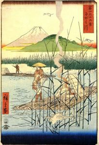 409px-Hiroshige%2C_The_Sagami_river