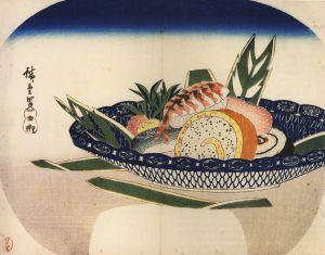 763px-Hiroshige_Bowl_of_Sushi