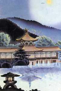 Japanse woodcut, postcard img381
