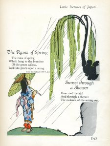 Little Pictures of Japan pg. 13 ('The Rains of Spring')