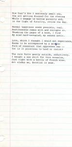 poem by Roger 1977