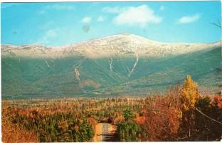 Roger W. Smith, boyhood postcard from New Hampshire, summer 1958