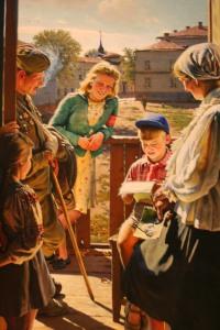 Soviet painting, Guggenheim exhibit IMG_0192