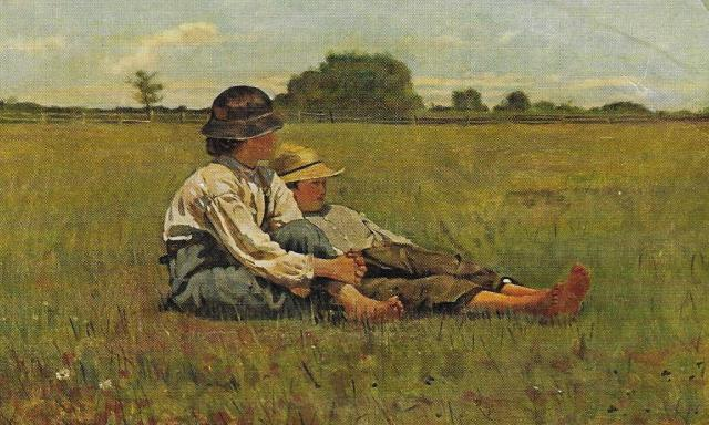 Winslow Homer, 'Boys in a Pasture'.jpg