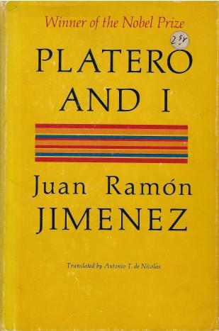 """Platero and I,"" translated by Antonio T. de Nicolás"
