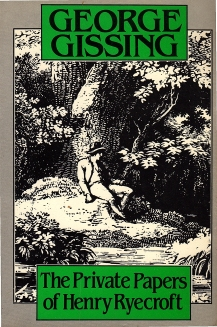 cover, 'The Private Papers of Henry Ryecroft'