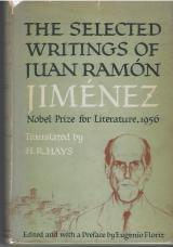 """The Selected Writings of Juan Ramón Jiménez,"" translated by H. R. Hays (New York: Farrar, Straus and Cudahy, 1957)"