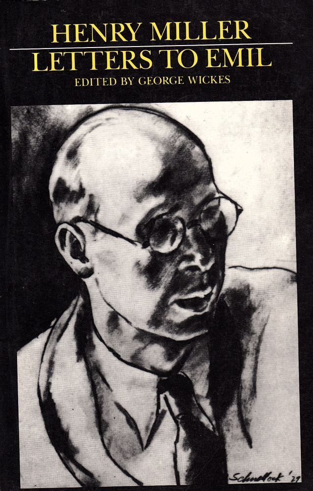 Henry Miller, 'Letters to Emil,' book cover