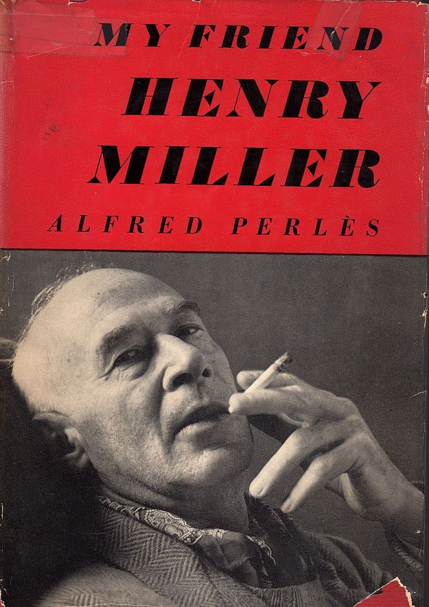 'My Friend Henry Miller,' book cover