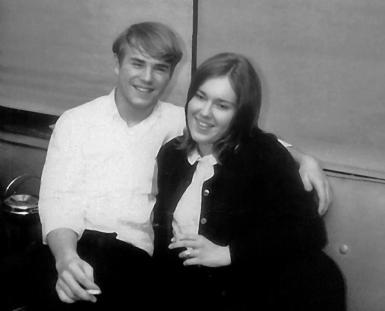 Chris Corley and Carol Burgess