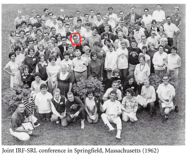 Joint IRF-SRL Conference, 1962 (Roger Smith highlighted in 4th row).jpg