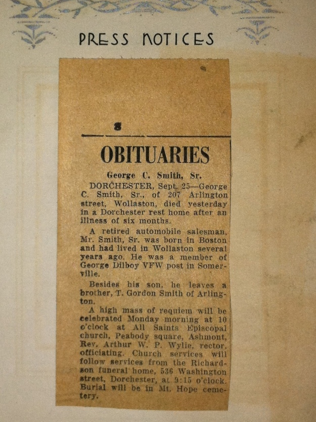 George C. Smith, Sr obituary.JPG