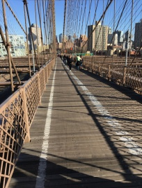 boardwalk, Brooklyn Bridge