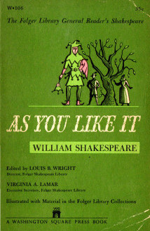 'As You Lke It,' cover