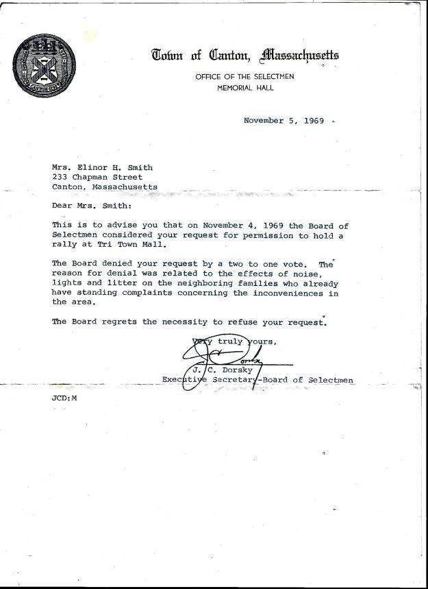 Board of Selectmen letter to Mom 11-5-1969.jpg