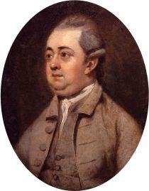 Edward Gibbon, portrait by Henry Walton