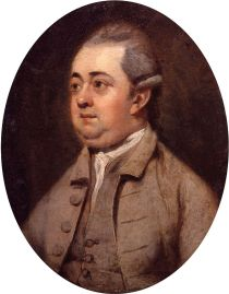 Edward Gibbon, portrait by Henry Walton