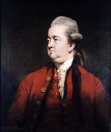 Edward Gibbon, portrait by Sir Joshua Reynolds