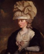 portrait of Frances Burney (aka Fanny Burney)