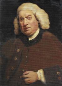 Samuel Johnson; portrait by Sir Joshua Reynolds