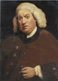 Samuel Johnson; portrait by Sir Joshua Reynolds