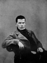 daguerreotype of Leo Tolstoy, 1848