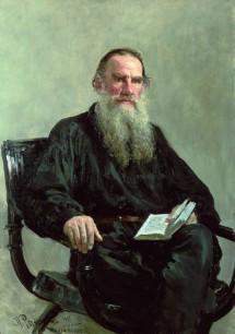 Leo Tolstoy; portrait by Ilya Repin