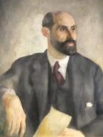 portrait of Juan Ramón Jiménez