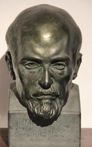 bust of Juan Ramón Jiménez