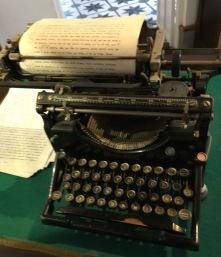 Juan Ramón Jiménez's typewriter