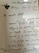 "Nicaraguan poet Rubén Darío (1867-1916) was an early admirer of Jiménez. His letter to the latter begins ""Mi amado Poeta"" (my beloved poet)."