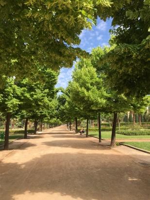 park, huerta de San Vicente (site of Federico García Lorca's boyhood home)