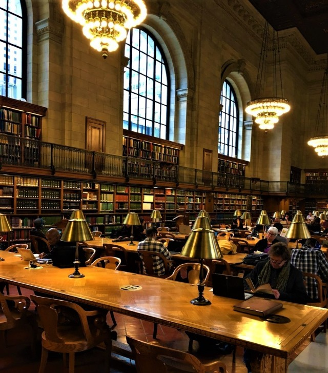 main reading room, NYPL 5-14-2017