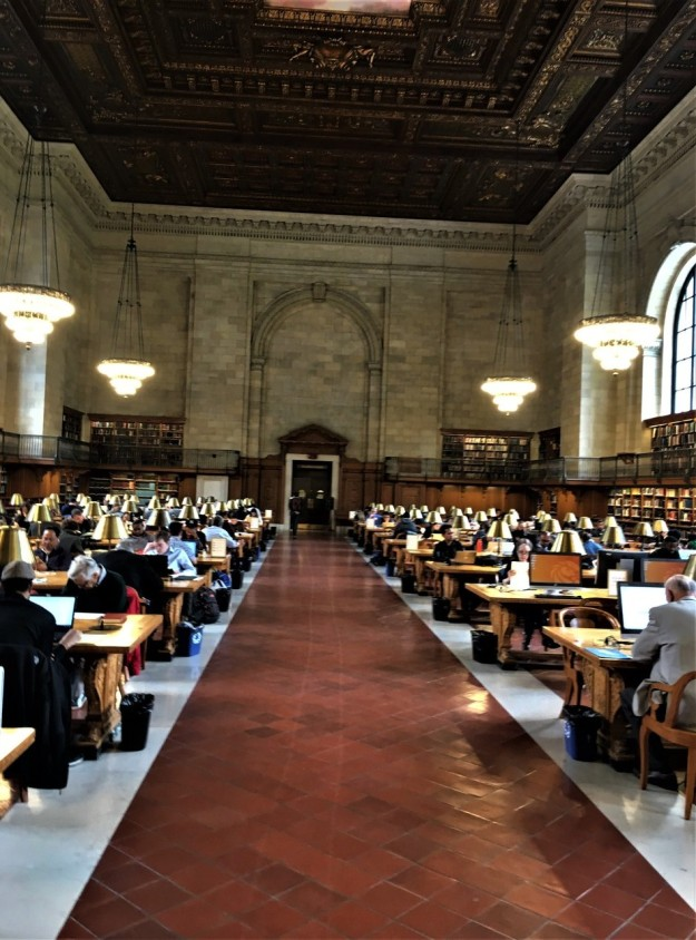 main reading room - NYPL