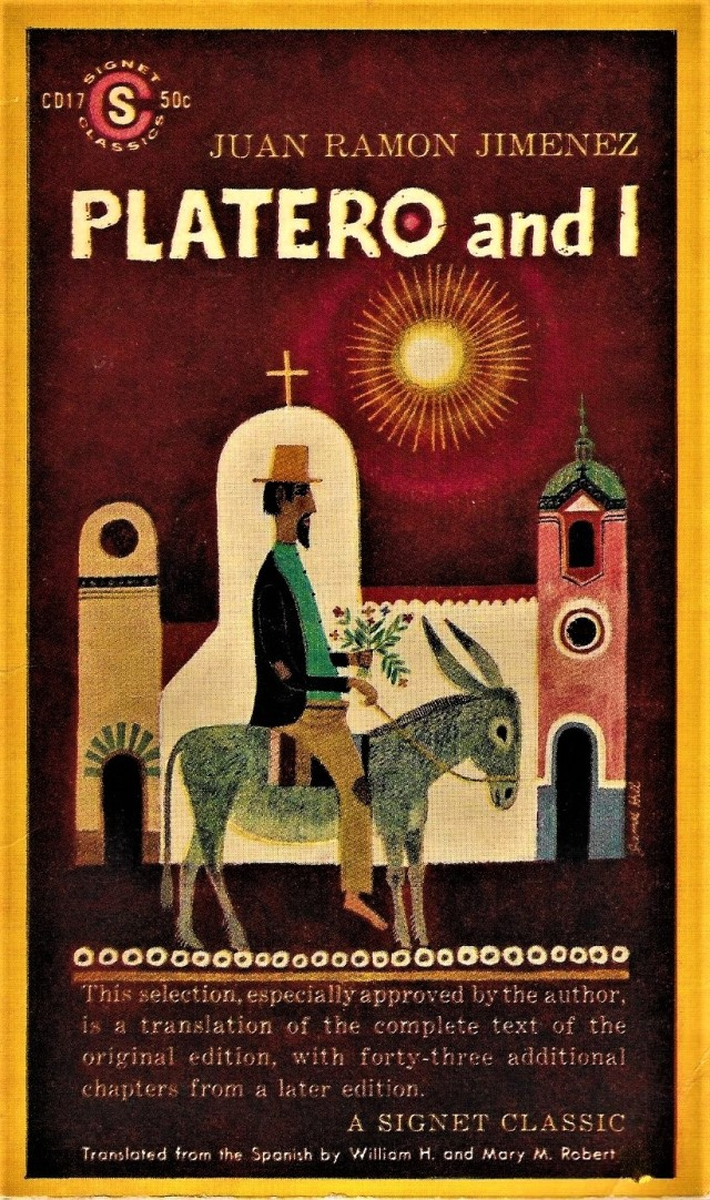 'Platero and I' (paperback) - cover.jpg