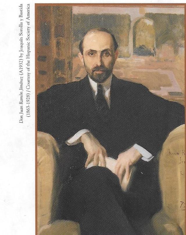portrait of Juan Ramon Jimenez by Joaquin Sorolla y Bastida