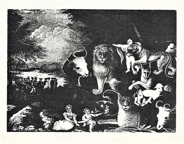 Bill's 'Peacable Kingdom' print