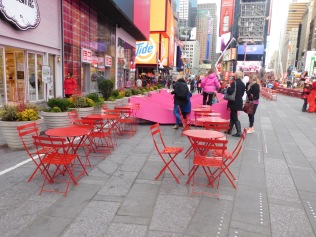 Times Square Public space, February 2, 2017 (photo by Roger W. Smith)