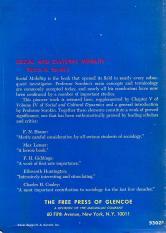 "Pitirim A. Sorokin, ""The Crisis of Our Age"" (E. P. Dutton & Co., 1941); back cover"