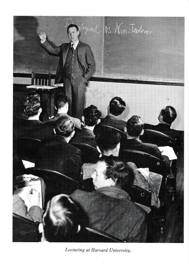 4-sorokin-lecturing-at-harvard