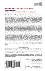 """Pitirim A. Sorokin, """"Russia and the United States,"""" paperback edition; back cover"""