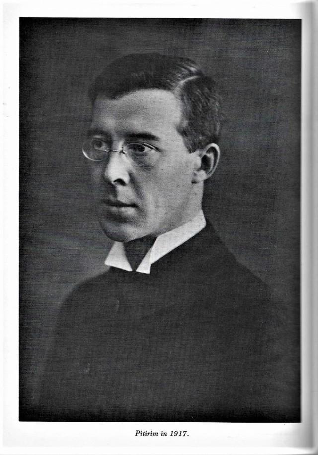 Pitirim A. Sorokin in 1917 ADJUSTED
