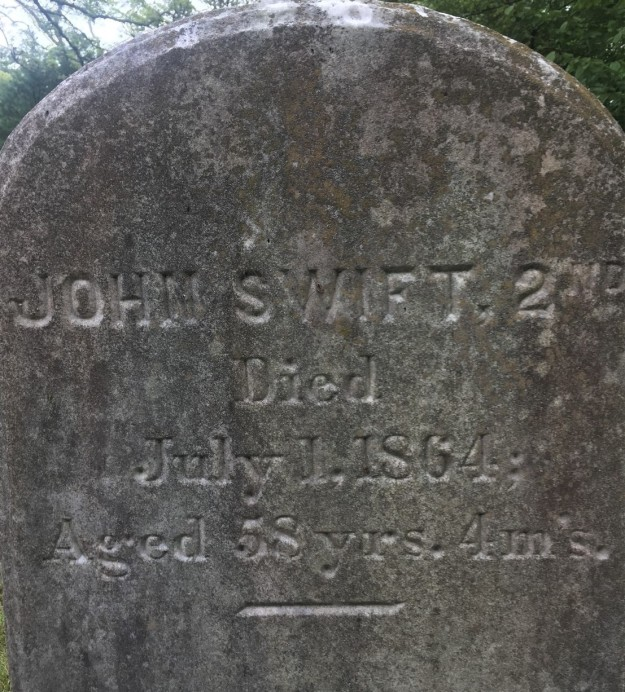John Swift 2nd gravestone (2)