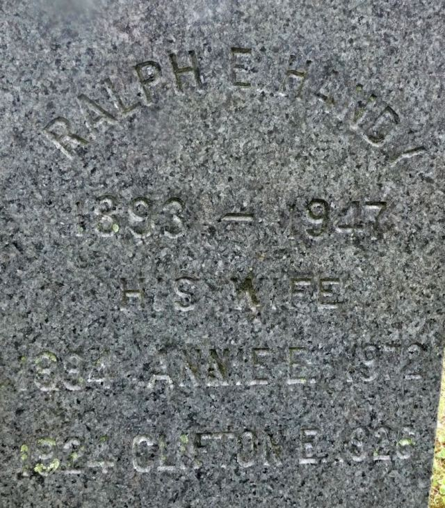Ralph E. and Annie Handy gravestone - atlernative view.jpg