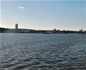 Hudson River from Riverside Park 7-25 p.m. 6-24-2017