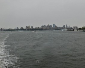 New York Harbor 2-08 p.m. 8-29-2017
