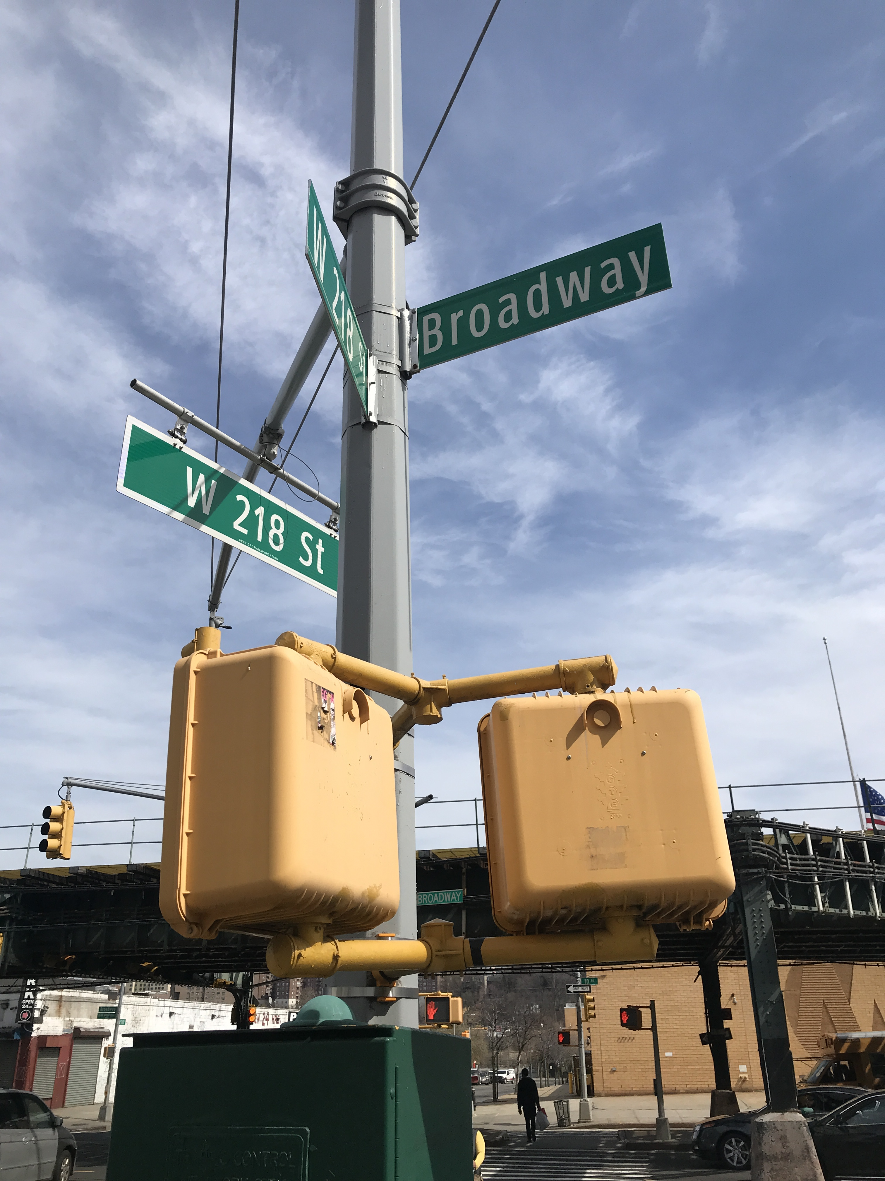 218th Street and Broadway.JPG