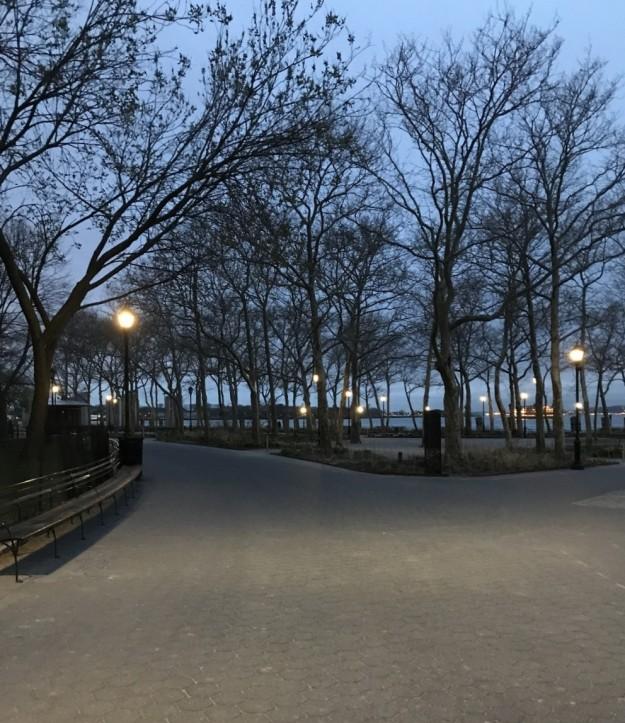 Battery Park 6-11 a.m. 4-12-2019