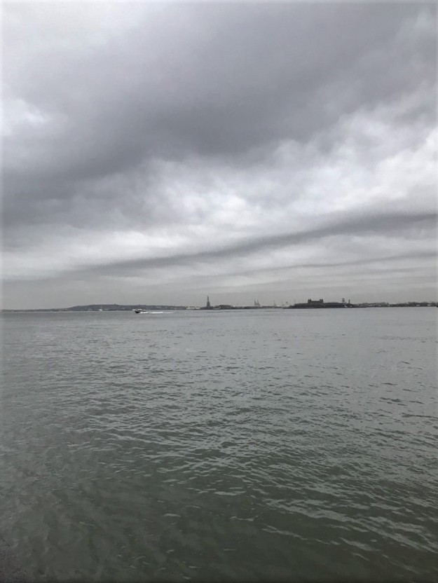New York Harbor 6-39 a.m. 4-12-2019